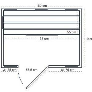 Pool-center_healtcompany_sterrenhemel_HCED 150_plattegrond